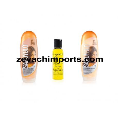 Zapotol Sapuyulo Shampoo-Conditioner-Oil