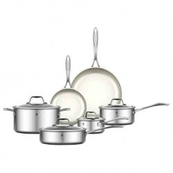 J. A. Heckels International 10-pc RealClad Cookware Set