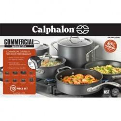 Calaphalon hard anodixed cookware 13-pc set