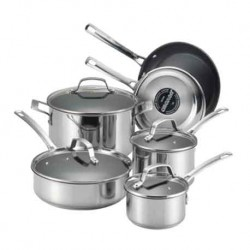 Circulon Stainless Steel Non-Stick 10-pc Cookware Set